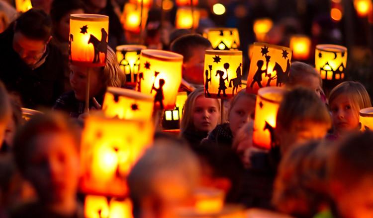 Szent Márton napi lámpás felvonulás